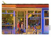 Brulerie St Denis Maison De Torrefaction  Coffee Shop Montreal Street Scene Art                 Carry-all Pouch