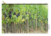 Brunello Grape Vineyard Carry-all Pouch