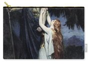 Brunhilde Knelt At His Feet, From The Carry-all Pouch