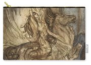 Brunnhilde On Grane Leaps Carry-all Pouch