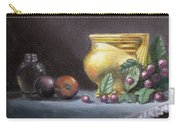 Brushed Gold Vase Carry-all Pouch