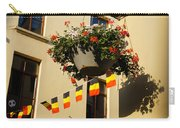 Brussels Belgium - Flowers Flags Football Carry-all Pouch