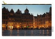 Brussels - Grand Place Facades Golden Glow Carry-all Pouch