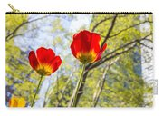 Bryant Park Tulips New York  Carry-all Pouch
