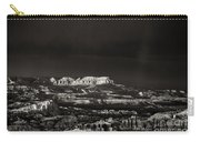 Bryce Canyon Formations In Black And White Carry-all Pouch