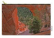 Bryce Canyon Natural Bridge And Tree Carry-all Pouch