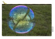 Bubble On Grass With St.johns Bridge Carry-all Pouch