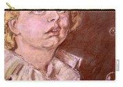 Bubbles Pastel Portrait Carry-all Pouch