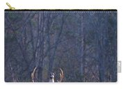 Buck In The Rut Carry-all Pouch