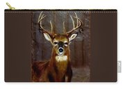 Buck On Slate  Carry-all Pouch