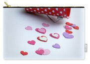 Bucket Of Hearts Carry-all Pouch