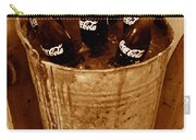 Bucket Of Iced Cold Coca Cola Carry-all Pouch