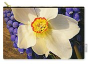 Buckeye And Grape Hyacinth Carry-all Pouch