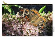 Buckeye Butterfly On Sedum Carry-all Pouch
