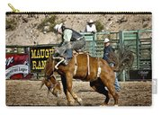 Bucking Bronco At Wickenburg Senior Pro Rodeo Carry-all Pouch