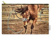 Bucking Carry-all Pouch by Caitlyn  Grasso