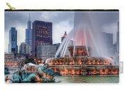Buckingham Fountain - 2 Carry-all Pouch