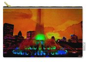 Buckingham Fountain Fantasy Chicago Il Carry-all Pouch