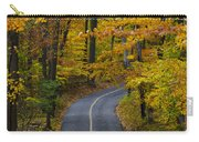 Bucks County Road In Autumn Carry-all Pouch