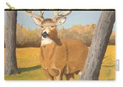 Bucky The Deer Carry-all Pouch