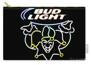 Bud Light And Mardi Gras Carry-all Pouch