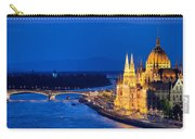 Budapest By Night Carry-all Pouch