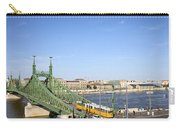 Budapest Cityscape And Liberty Bridge Carry-all Pouch