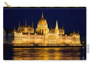 Budapest Parliament At Night Carry-all Pouch