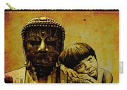 Buddha Girl Carry-all Pouch by Richard Tito