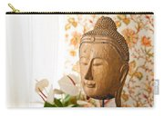 Buddha Head Carry-all Pouch