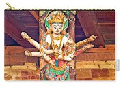 Buddha Image In Patan Durbar Square In Lalitpur-nepal   Carry-all Pouch