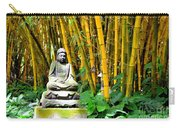 Buddha In The Bamboo Forest Carry-all Pouch
