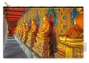 Buddhas At Wat Arun, Bangkok Carry-all Pouch