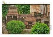 Buddhas In Wat Mahathat In 13th Century Sukhothai Historical Park-thailand Carry-all Pouch