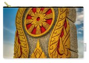 Buddhist Icon Carry-all Pouch by Adrian Evans