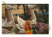 Buddhist Monk Thailand 3 Carry-all Pouch