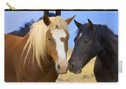 Buddies Wild Mustangs Carry-all Pouch