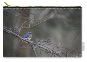 Budding Bluebird Carry-all Pouch
