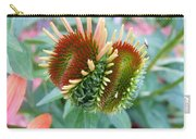 Budding Coneflower Carry-all Pouch