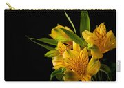 Budding Flowers Carry-all Pouch