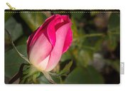 Budding Pink Rose Carry-all Pouch