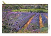 Buddleia And Lavender Field Montclus Carry-all Pouch