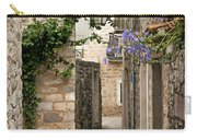 Budva Old Town Cobbled Street In Montenegro Carry-all Pouch
