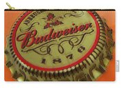 Budweiser Cap Carry-all Pouch by Tony Rubino