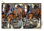 Budweiser Clydesdales Carry-all Pouch