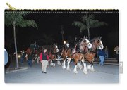 Budwiser Clidsdale Horses Carry-all Pouch