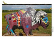 Buffalo Artwork Carry-all Pouch