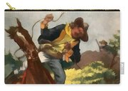 Buffalo Bill And The Silk Lasso Carry-all Pouch by Dime Novel Collection