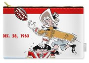 Buffalo Bills 1963 Playoff Program Carry-all Pouch
