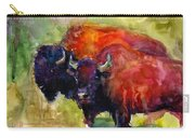 Buffalo Bisons Painting Carry-all Pouch
